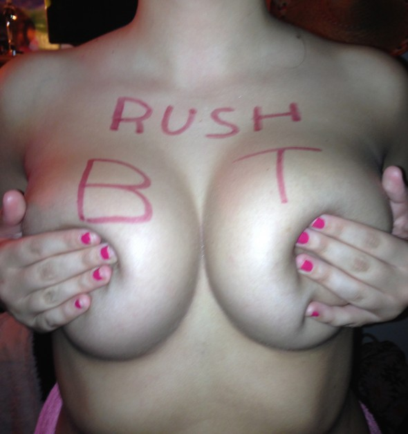 Rush Beta Tau. TFM.