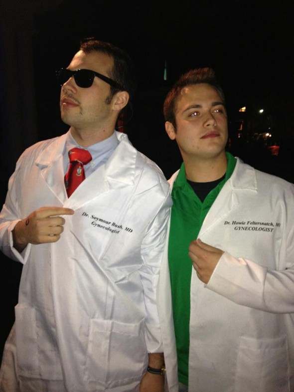 Dr. Seymour Bush and Dr. Howie Feltersnatch. TFM.