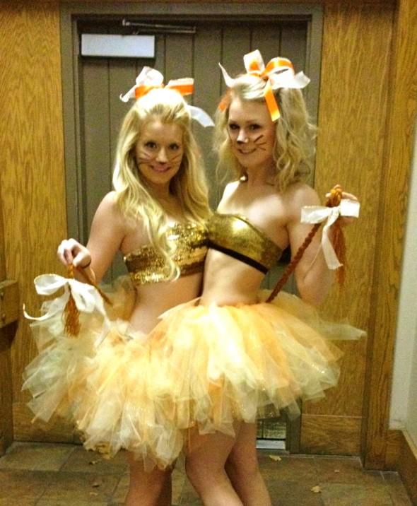 Big and little Halloween costumes. TSM.