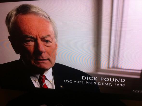 Dick Pound. TFM.