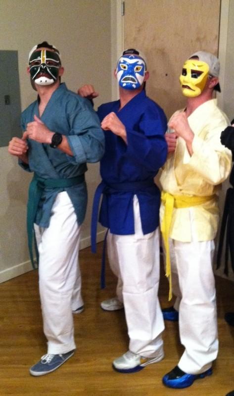 Living a childhood dream, 3 Ninjas.