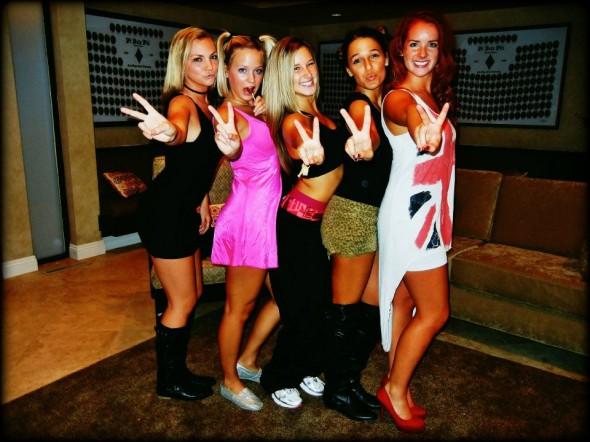 Spiciest Spice Girls.