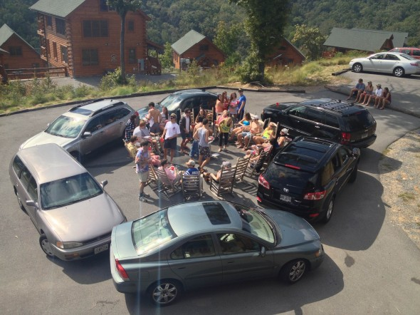 Circling the wagons in Fratlinburg. TFM.