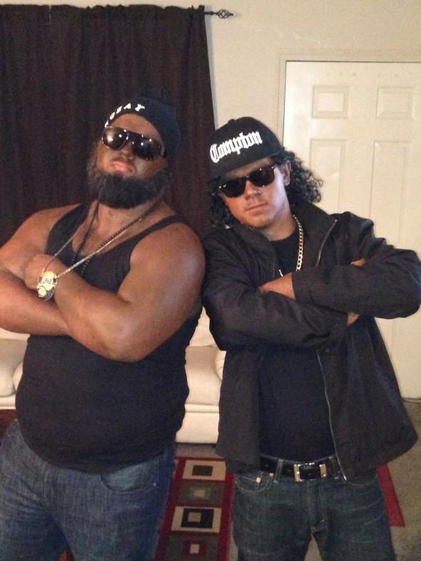 Rick Ross and Eazy-E.