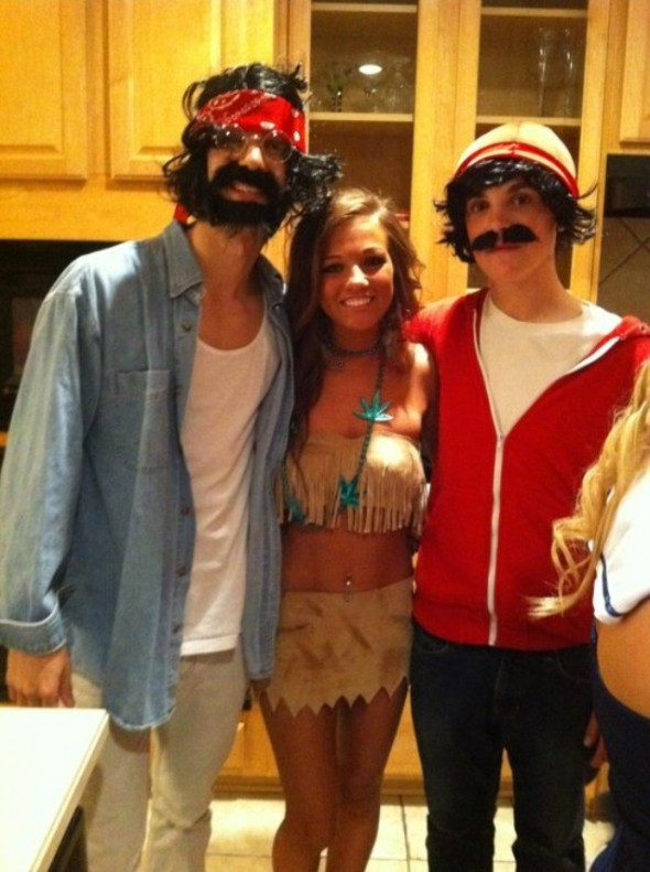 Cheech, Chong and Smokahontas. TFM.