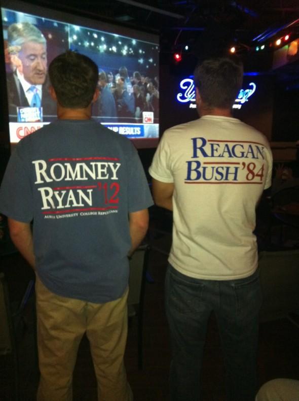 Watching last night's debate in style. TFM.