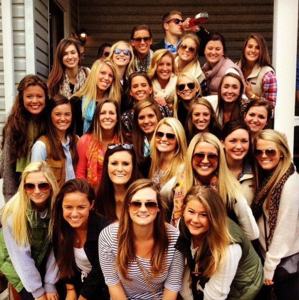 Business in the front, party in the back. TFM.
