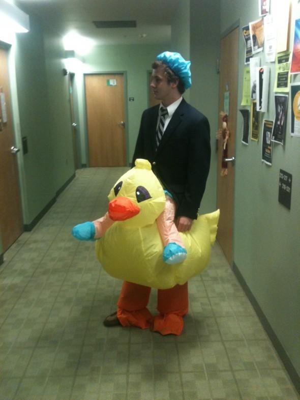 Rubber Duck Pledge. TFM.