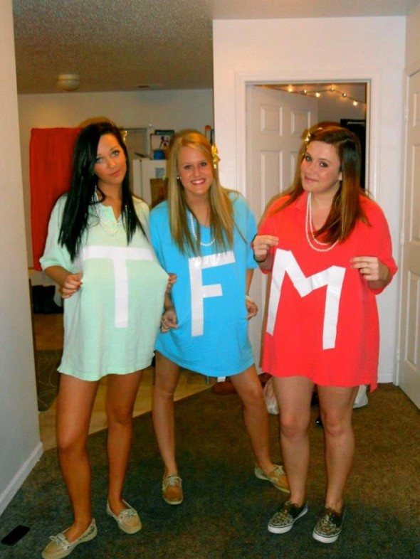 Pearls and bows, even for TFM.