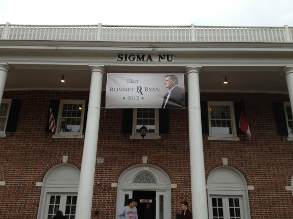 Making a statement. TFM.