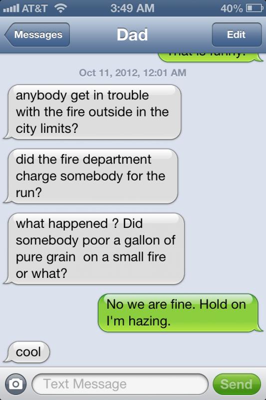 Dad knows. TFM.