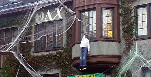 total frat move cal fraternity accidentally puts up some