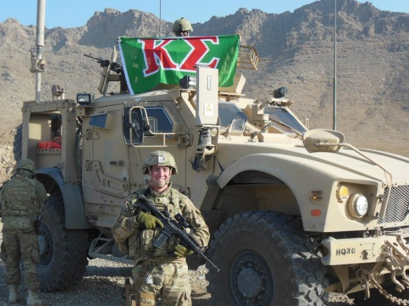 My Pledge Educator now hazes in Afghanistan. TFM.