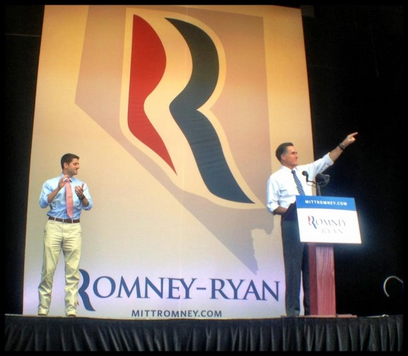 Pastel pants and a powerpoint at the rally. TFM.