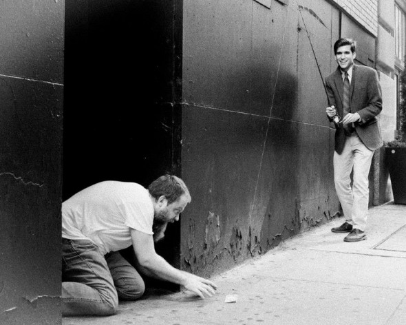 Young Mitt Romney pranking the homeless. TFM.