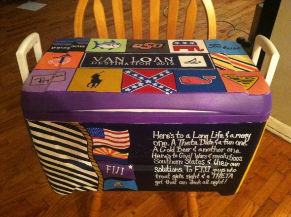 My cooler > yours. TFM.