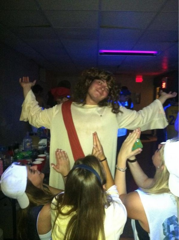 Ladies bow down to the Jesus D.