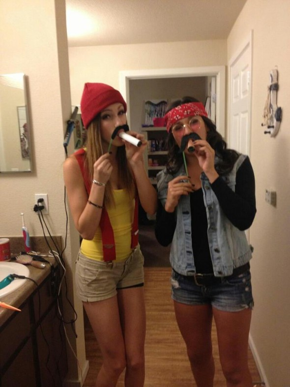 Cheech and Chong, up in smoke for Halloween 2012!