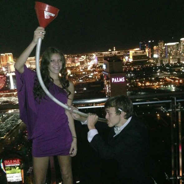 Keeping it classy in Vegas. TFM.