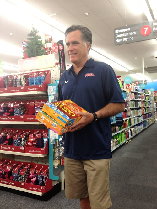Honey Nut Cheerios and Ole Miss. TFM.