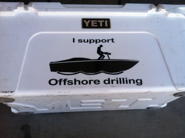 Off shore drilling. TFM.