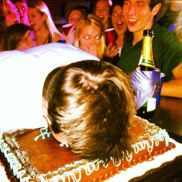 Edward Champagne-Hands has his cake and eats it too. TFM.