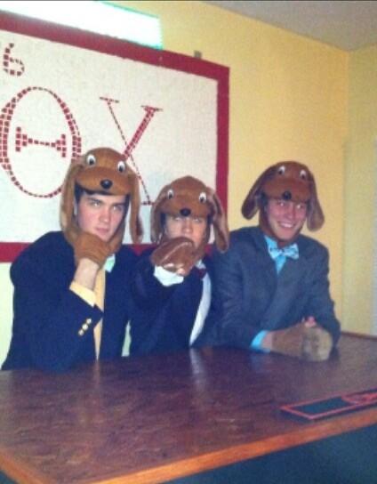 Frat hounds. TFM.