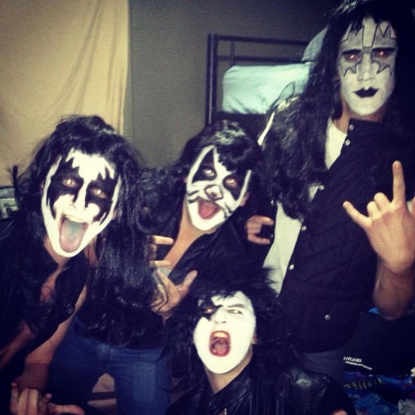 Who wouldn't want to party with KISS.