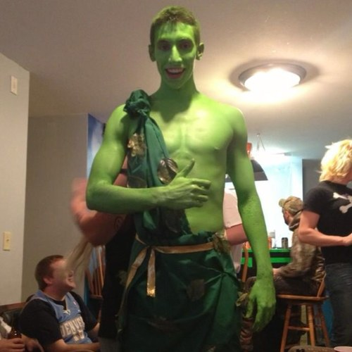 Jolly Green Giant Pledge. TFM.