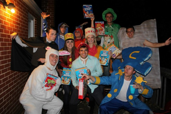 Come get your cereal.