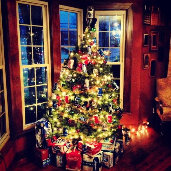Best Christmas tree on campus. TFM.