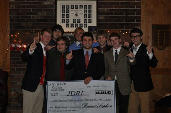 Raising over $5,800 for Type 1 Diabetes Research to support a brother. TFM.
