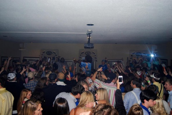 Gettin down with Afroman in the chapter room. TFM.