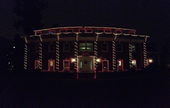 Beta Theta Pi house at the University of Oregon. TFM.