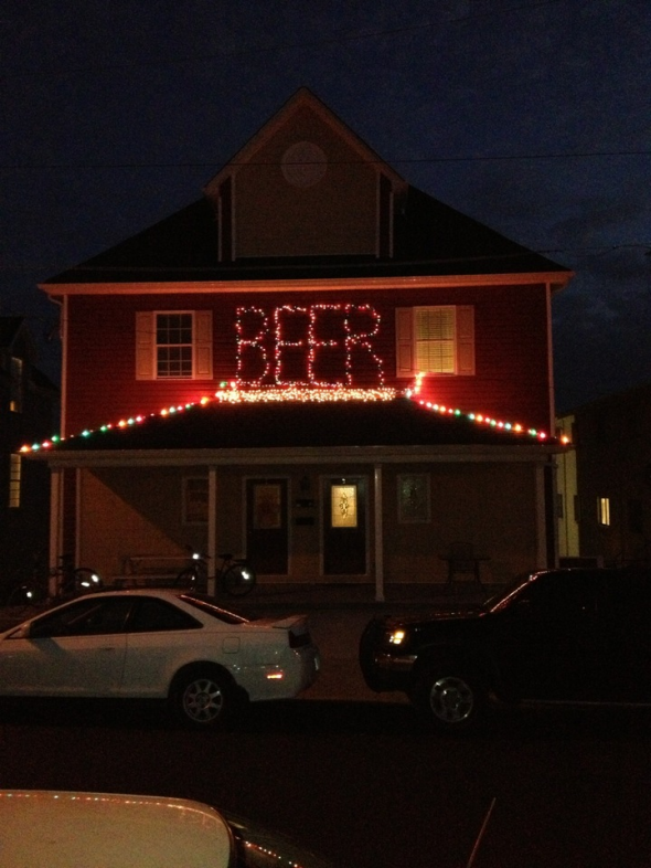 Spreading the Christmas cheer. TFM.