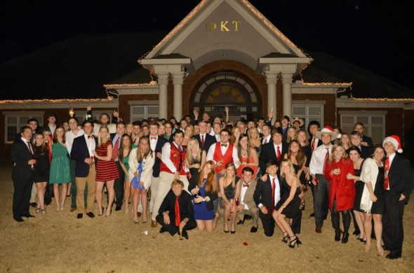Merry Christmas from the Alpha Lambda chapter. TFM.