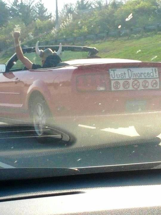 This man's celebration, even if his car is weak. TFM.