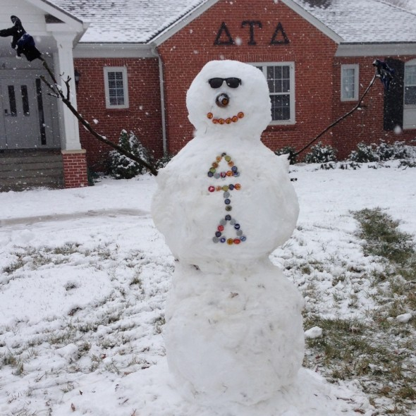 Frosty the Delt man. TFM.