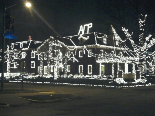 The greatest lights on campus. TFM.