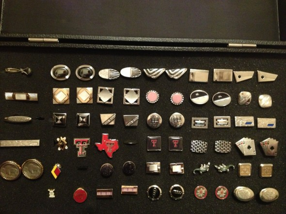 Cufflinks for every occasion. TFM.