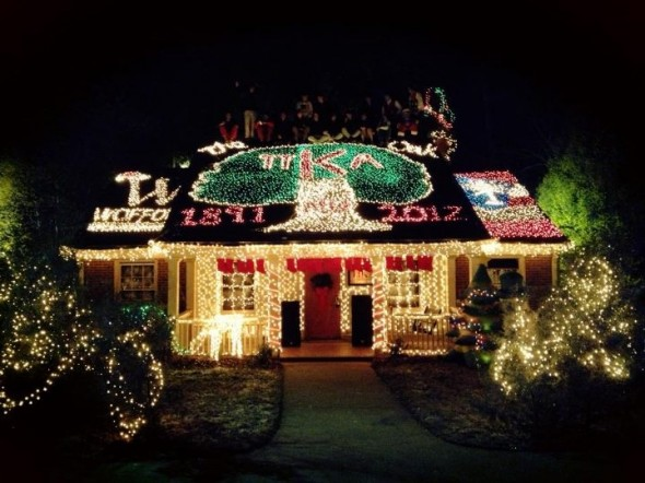 Christmas lights. TFM.