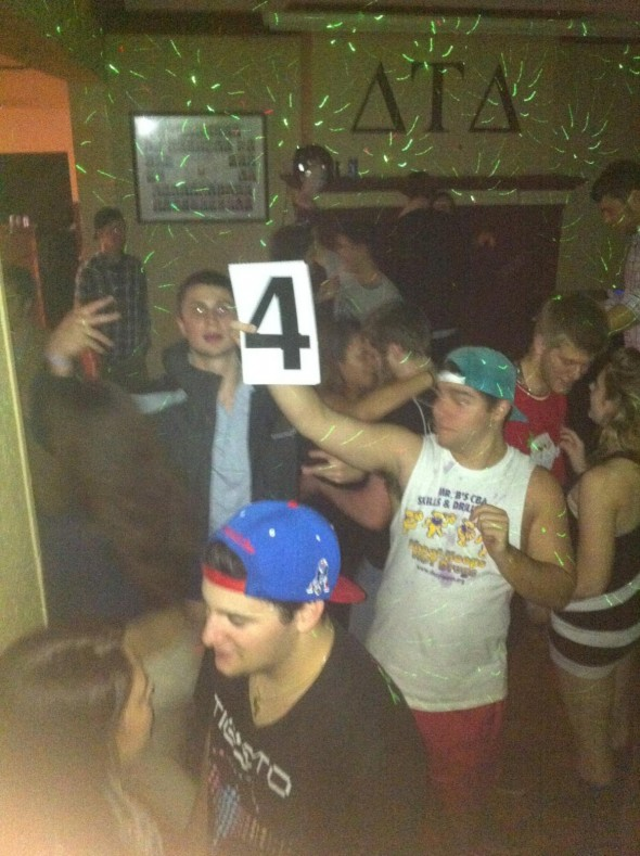 Rating the girls at the party on a scale of 1-to-10. TFM.