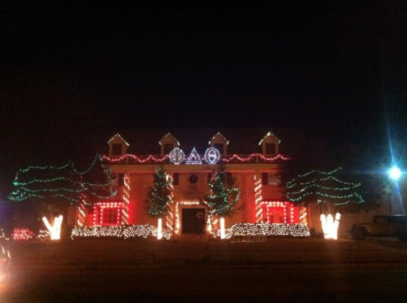 Having the best lights on campus. TFM.