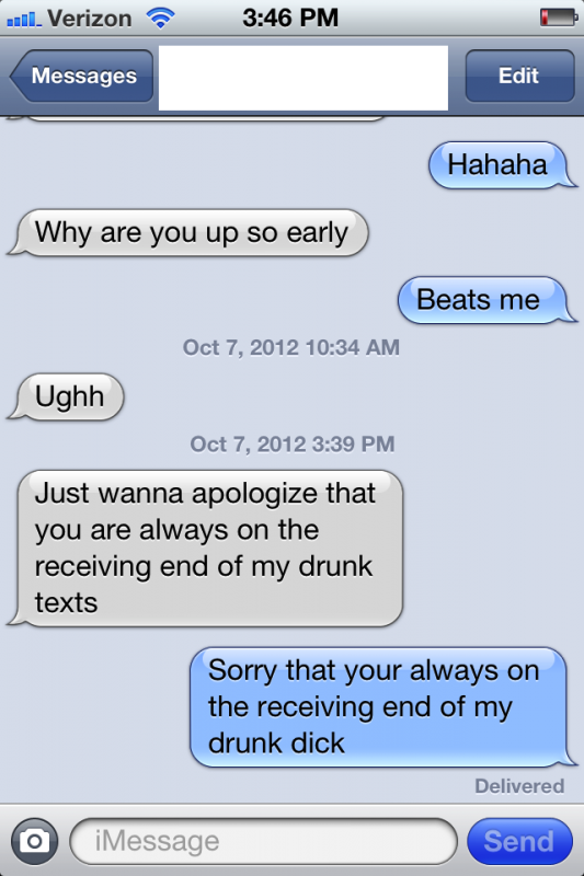 Apologizing. TFM.