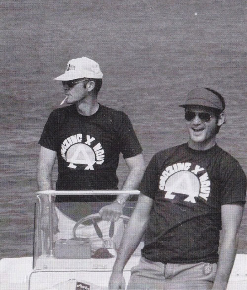 BIll Murray and Hunter S. Thompson. TFM.