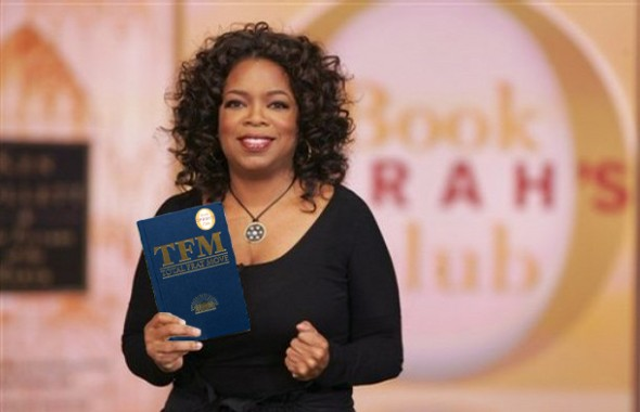 Oprah approves. TFM.
