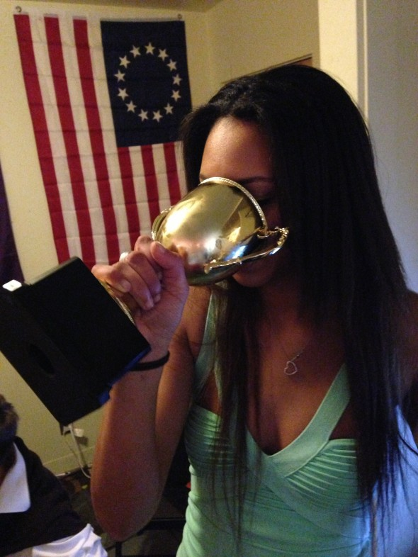 Chugging out of trophies. TFM.