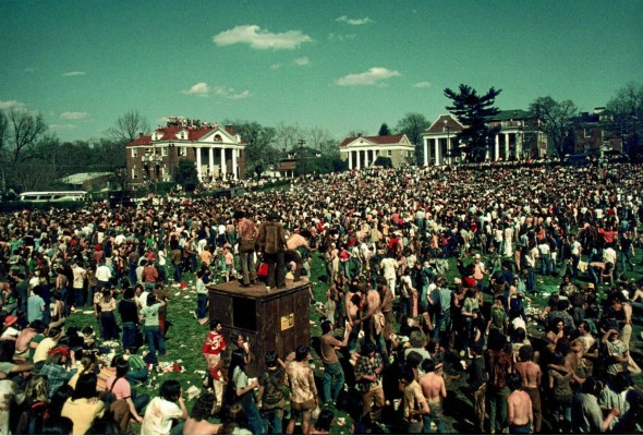 The biggest fraternity party of all time. TFM.