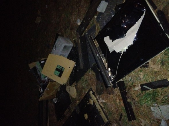 When a rush event turns into smashing TVs. TFM.