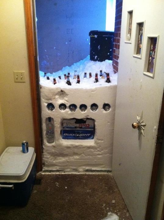 Making the best of a snow storm. TFM.